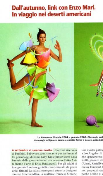 rewiew magazine Arte